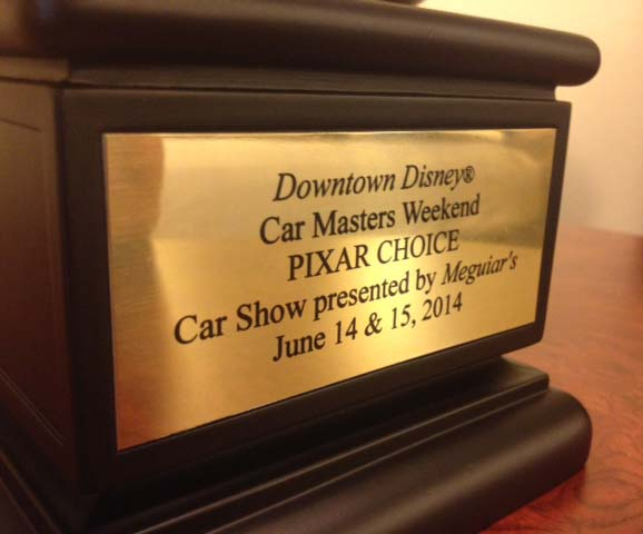 Disney Pixar Jay Ward Car Masters Winner - Downtown Disney Car Show Winner Griswold Truckster