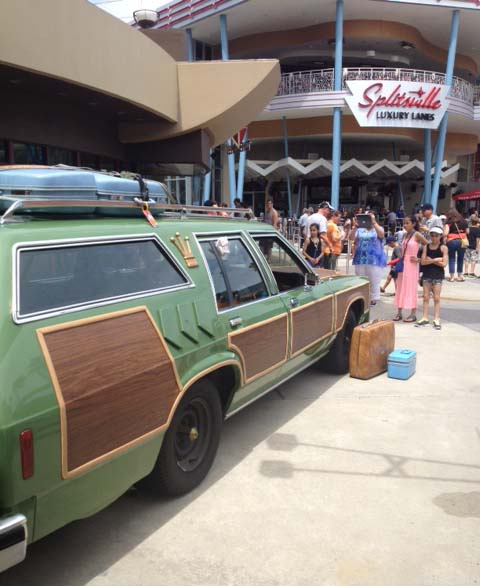 Griswold Vacation Truckster Disney Car Masters