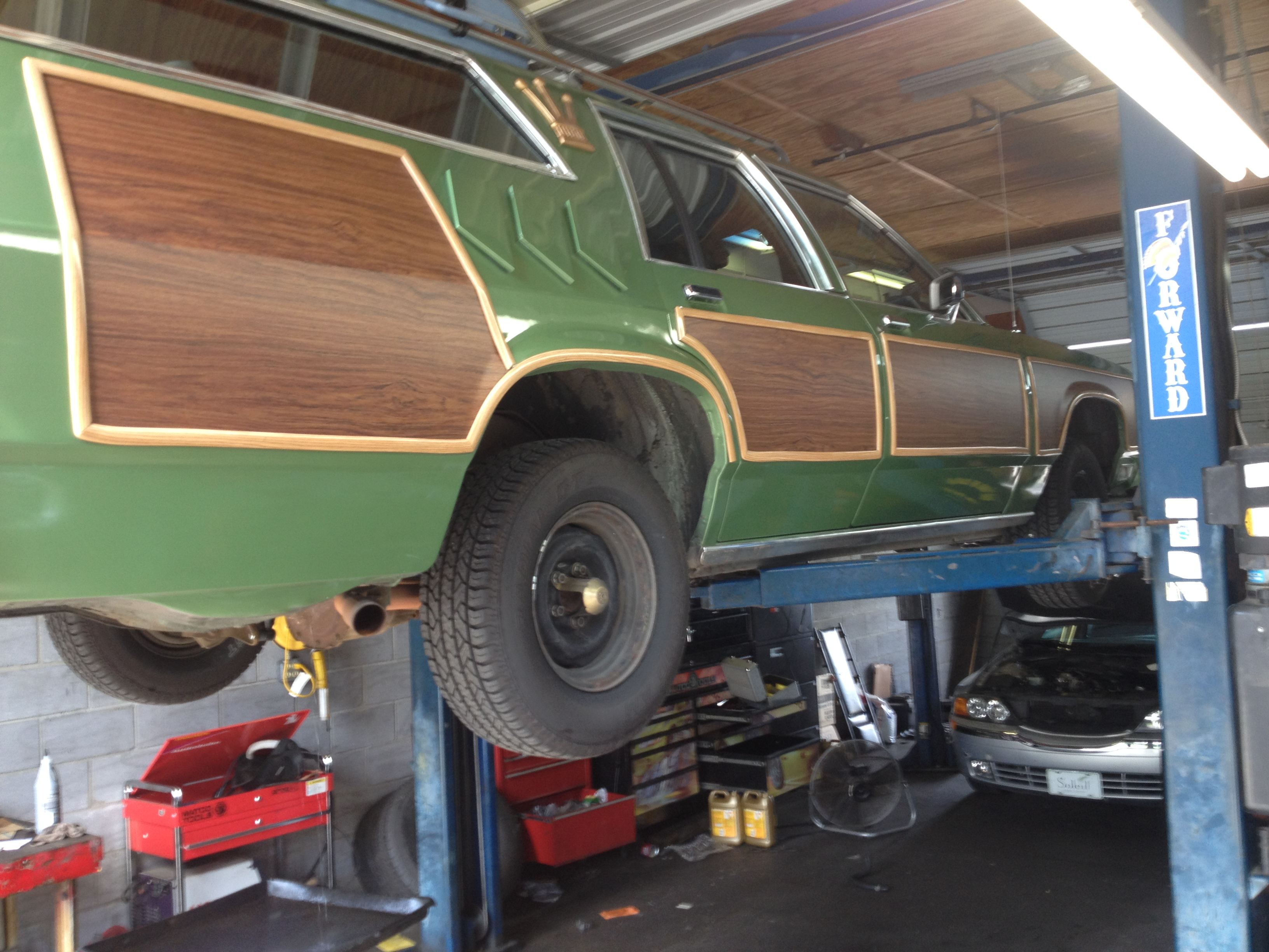 Griswold Vacation Wagon Queen Family Truckster