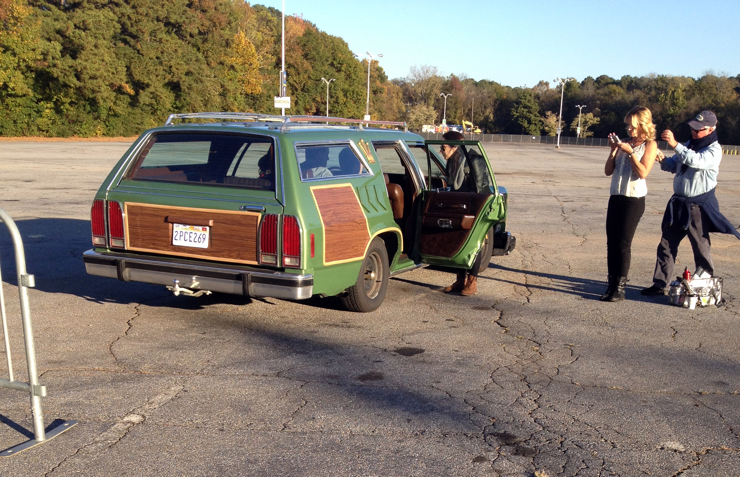 Truckster At Walley World