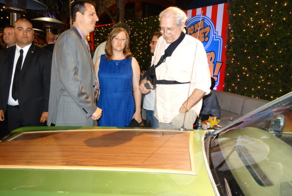 Steve and Lisa Griswold Talk about the Truckster in the Vacation movie with Chevy Chase