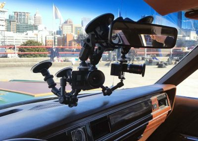 The coolest gopro setup for Jay Leno's Garage